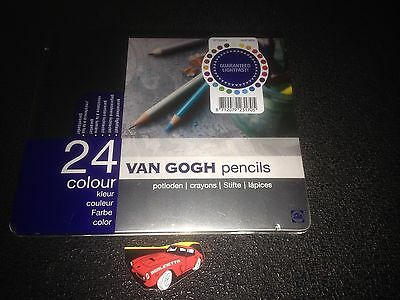 Talens Van Gogh Pencils 24 Colour Lightfast Potloden Crayons Stifte Lapices