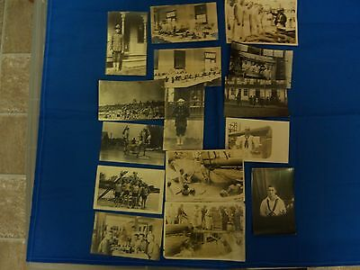 WW1 Military/Naval Photos and Postcards, Used (S3978)