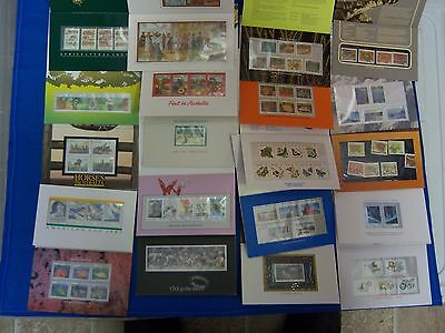 Australia Stamps Folders, Many Different, Face $98.05 (S3979)