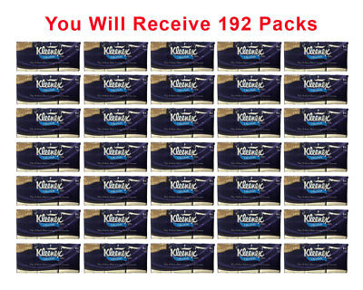 192-Packs Kleenex Go Pack XOXO SOFT Facial Tissue Purse Travel Small Pack 10ct