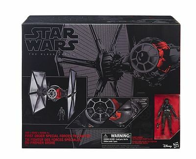 Hasbro Star Wars Episode VII Black Series First Order Special Forces TIE Fighter