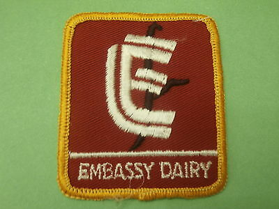 Embassy Dairy  -  New Vintage Patch