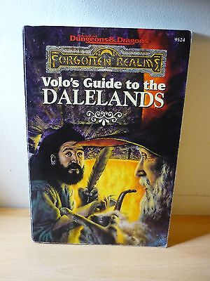 Volo's Guide to the DALELANDS Forgotten Realms AD&D Ed Greenwood TSR9524