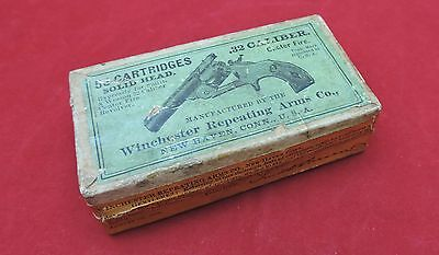 "Winchester Cartridge  ""Picture Box"" -2 Piece One Side Still Sealed"