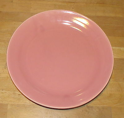 "Bauer Los Angles La Linda Pink 13"" Chop Plate Round Platter"