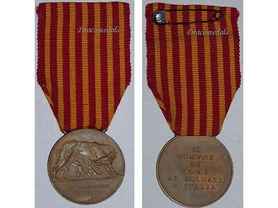 Italy WW1 Military Medal Rome Italian Soldiers Decoration 1914 1918 War Award