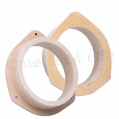 AUDI A3 8P 8PA A4 B6 8E 8H MDF 165mm Lautsprecher Ring Lautsprecherringe Adapter
