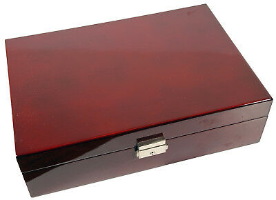 10 Watch Rosewood Storage Case Organizer