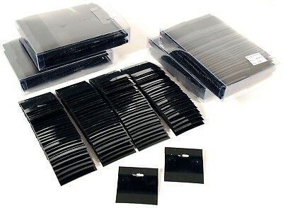 """500 Black Earring Hanging Cards Jewelry Display 2"""""""