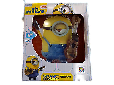 Stuart (Despicable Me Minions) Minis 3D Wall Light