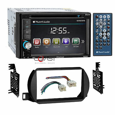Planet Audio Car Radio Stereo 2 Din Dash Kit Harness for 2002-04 Nissan Altima