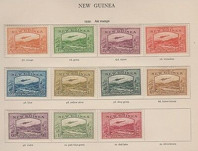 NEW GUINEA C46-56 Air Mails mint to 2sh