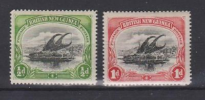 PAPUA NEW GUINEA 1-2 First two issues 1901 mint