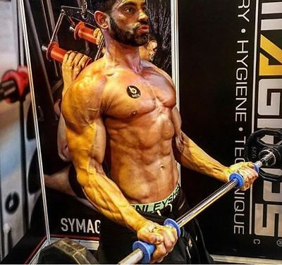 Symagrips Fitness Gym Grips Exercise Workout Weight Lifting MMA CrossFit NEW