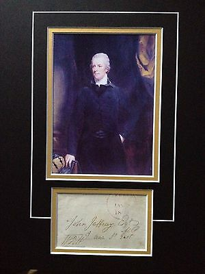 William Pitt The Younger - Former Prime Minister - Superb Signed Photo Display
