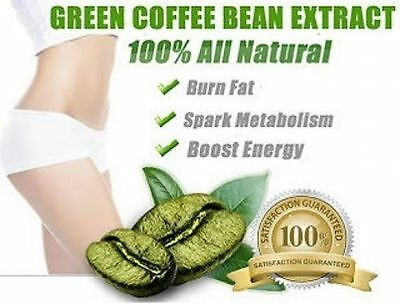 1000MG Green Coffee Bean Diet Extract Slimming Pills Weight Loss Capsules