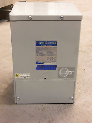 GE 10kva TRANSFORMER 1 SINGLE PHASE 240v/480v-120v/240v 240X480 DELTA WYE