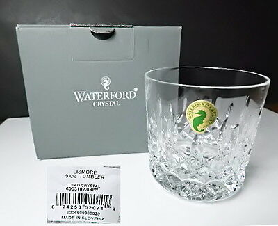 Waterford LISMORE 9 oz Old Fashioned Tumbler(s) New in Box !!