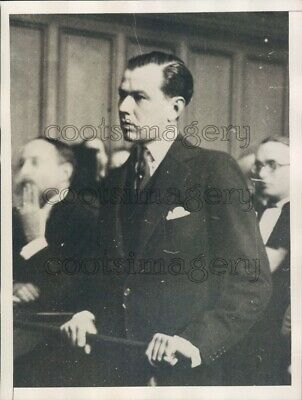 1930 Raymond de Trafford Happy Valley Africa Colonial Press Photo