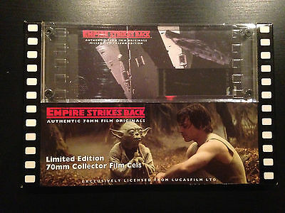 Star Wars Empire Strikes Back Authentic 70Mm Film Cell 0722 Chewbacca