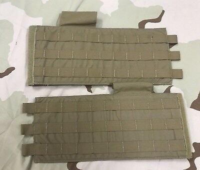 New Usmc Coyote Mtv Cummerbund Set Scalable Plate Carrier Xs Sm Md
