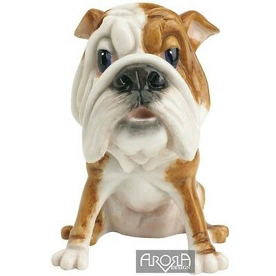 Bruno the Bull Dog Little Paws Collectible Dog Figurine