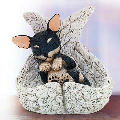 Chihuahua Precious Paw Prints Dog in Angel Wings 0905738002