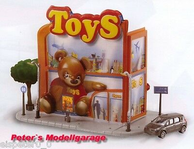 Toy Shop, Majorette Majocity Large Diorama 1:64