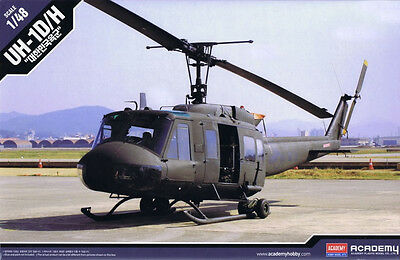 Academy Model kit 1/48 Bell UH-1D/H ROK Limited Edition