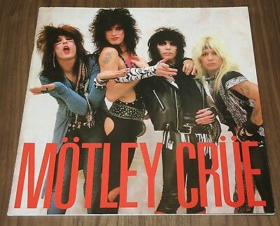 Motley Crue JAPAN tour book 1985 debut CONCERT PROGRAM others available JPN ONLY