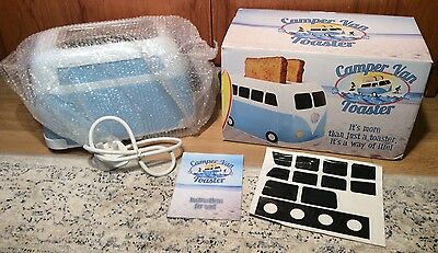 Rare Discontinued Blue VW Campervan Toaster Fizz Creations New Boxed Unused BNIB