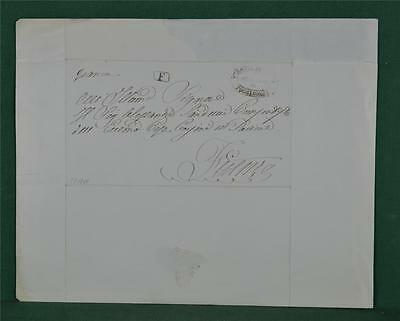 Antique Italian Letter Dated 1860 To Toscane - Italy Postal History   (Z9)