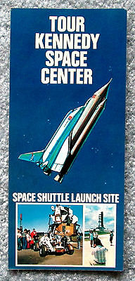 Tour Kennedy Space Center NASA Advertising Card 1970s vintage lsc