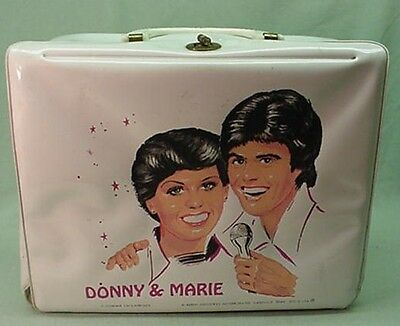 Vintage 1978 Donny and Marie vinyl lunch box