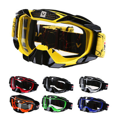 Motorcycle Motocross Riding Goggles ATV Pit Dirt Bike Off Road Eyewear Glasses