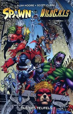SPAWN vs WILDCATS CROSSOVER TPB deutsch (US #1,2,3+4) ALAN MOORE WildC.A.T.S