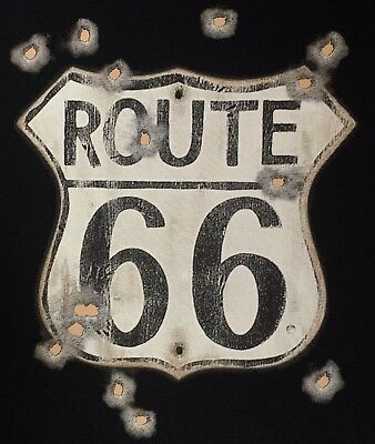 T-Shirt ROUTE 66, Hot Rod Dragster US-Cars Classic-Car Oldtimer Route 66 Nr.266