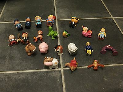 Happyland / Jake And The Neverland Pirates/fireman Sam  21 Figures