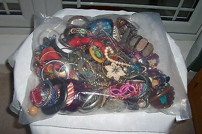 Job Lot Of Costume/Modern Jewellery Unsorted In Sealed Bag Approx 2.4 kgs Lot8