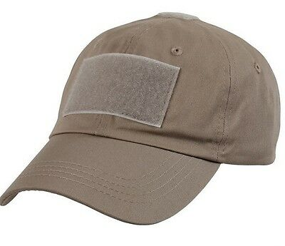 US Tactical Operator Combat Military Cap Hut with Velcro coyote