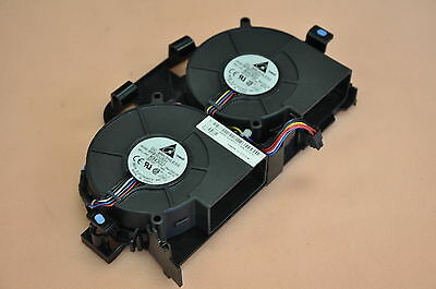 Dell Poweredge R200 Server Dual Cooling Fan Assembly Model BFB1012EH DP/N HH668