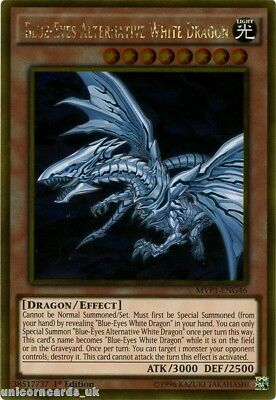 MVP1-ENG46 Blue-Eyes Alternative White Dragon Gold Rare 1st Edition Mint YuGiOh