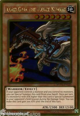 MVP1-ENG50 Lord Gaia the Fierce Knight Gold Rare 1st Edition Mint YuGiOh Card