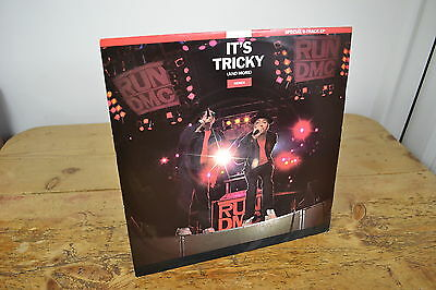 Run Dmc It's Tricky 6 Track Ep 1986 12 Inch Vinyl Record Single Mint Condition