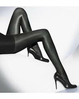 New Wolford Neon 40 Tights Pantyhose Color Black Size Extra Small 18391 -08