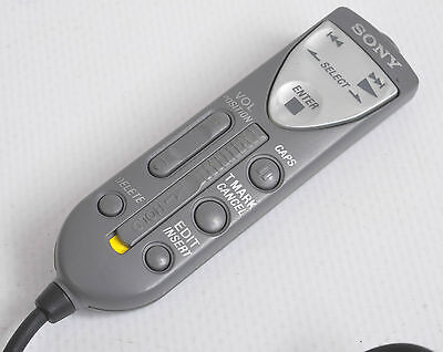 Sony Rm-Mzr37 Minidisc Player Remote Control