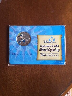 Tokyo Disney Sea Grand Opening Commerative Medal Cast Exclusive