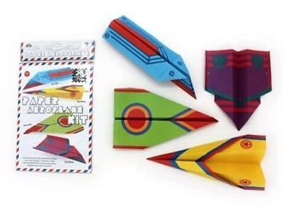 """""""PAPER PLANE KIT"""" 20 Paper Planes To Make & Fly - Race Them With Your Friends!"""