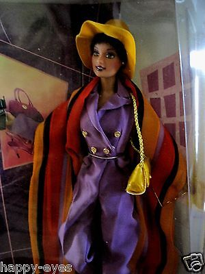 Barbie Uptown Chic African American Doll Set *new* W.clothes/shoes