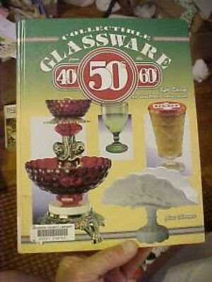 COLLECTIBLE GLASSWARE FROM 40s 50s 60s;  5th ID & VALUES EX LIB